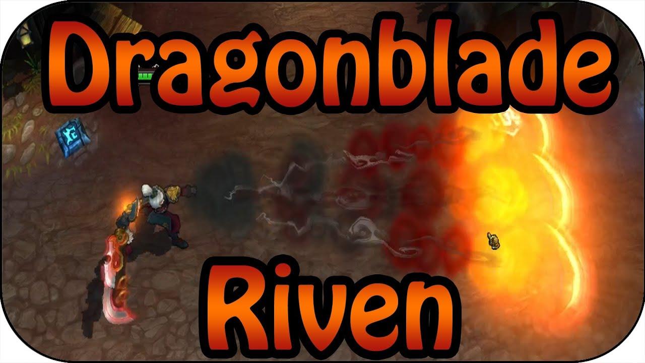 Dragonblade Riven Skin Spotlight