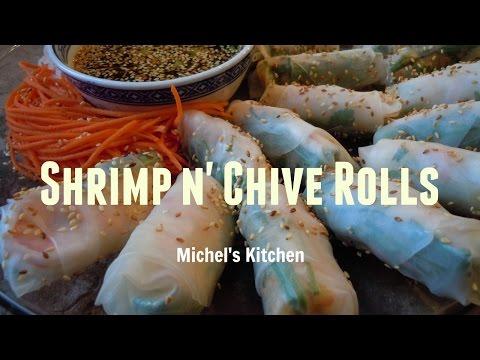 Fresh Shrimp & Chive Spring Rolls - Show 7