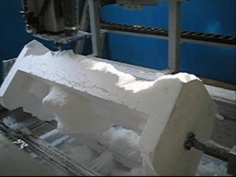 Cnc Router 4 Axis Machine Shaping Foam