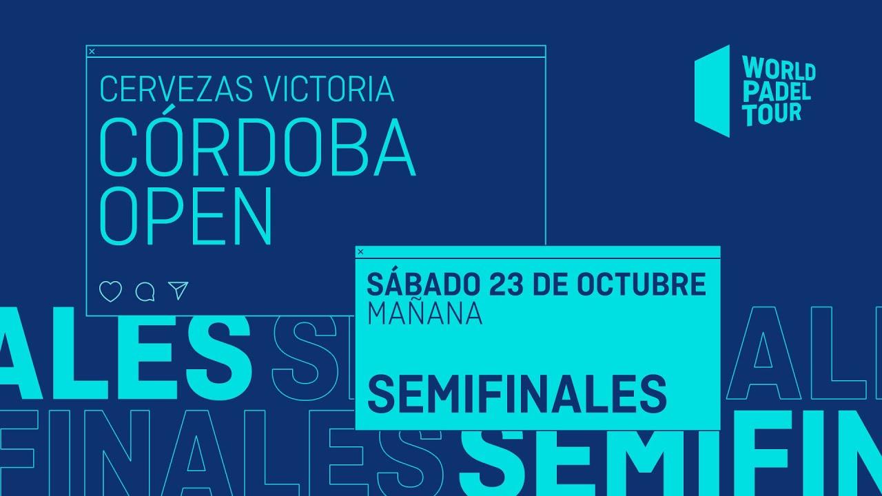 Download Semifinales Mañana - Cervezas Victoria Córdoba Open 2021  - World Padel Tour