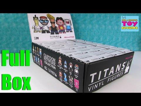 CN Cartoon Network Titans Vinyl Figures Unboxing Full Set | PSToyReviews