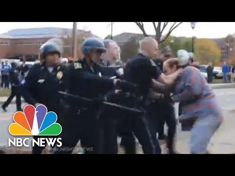 Keane University Riots At Pumpkin Fest   NBC Nightly News