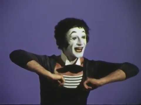 Marcel Marceau I Bip At A Society Party 1975