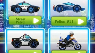 Monster Truck 4X4 Police Racing