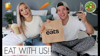 HEALTHY MUKBANG & ANSWERING RELATIONSHIP QUESTIONS!