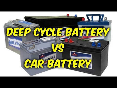 deep cycle battery vs car battery youtube. Black Bedroom Furniture Sets. Home Design Ideas