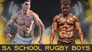 This Is South African School Rugby | Schoolboy Rugby Big Hits, Steps and Magical Moments