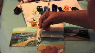3 Quick Seascapes #2 of 2 By Marge Kinney