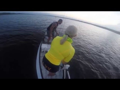 Fishing For Reds In Guana Preserve