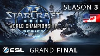 Heart vs. Bomber- (TvT) - Grand Final - WCS America 2014 Season 3 - StarCraft 2