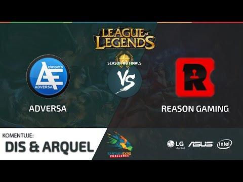 FEC FINAŁ #0 [LOL] – Adversa  vs Reason Gaming - Mecz 1