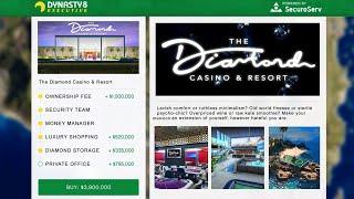 GTA 5 Casino DLC Update - NEW Properties! Release Date Confirmed, Trailer, Free Money & MORE!