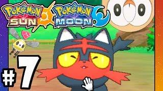 pokemon sun and moon 3ds gameplay walkthrough part 7 route 2 catching cutiefly hatching litten