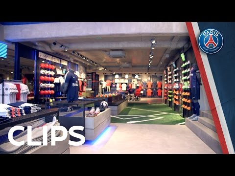 NEW PARIS-SAINT GERMAIN MEGASTORE NOW OPEN