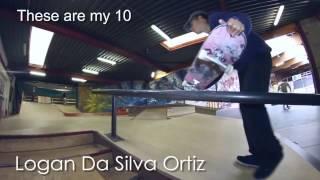 Logan Da Silva Ortiz - These Are My 10 - Belgium Skate Media