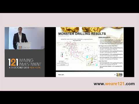 Presentation: TomaGold - 121 Mining Investment New York 2018