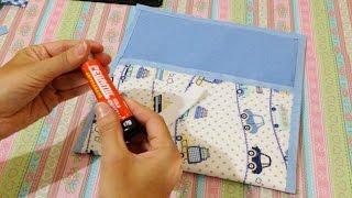 Como Fazer Capa para Tablet de Tecido Sem Costura