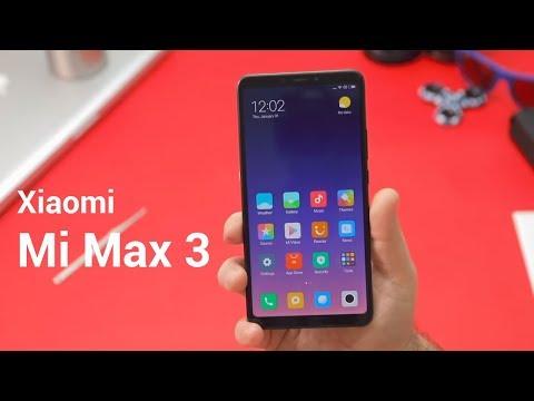 Xiaomi Mi Max 3 Review - a budget-friendly phablet