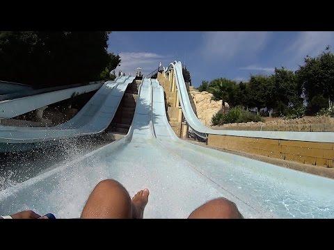 Single Racer Water Slide at Aphrodite Waterpark