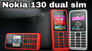 Nokia 130 dual sim unboxing,specifications and full hands on review | Nokia 130 black