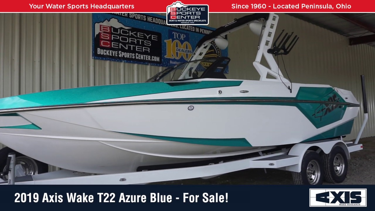 2019 Axis Wake T22 Azure Blue