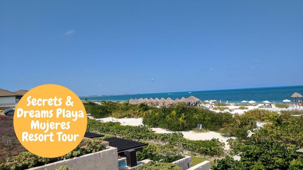Secrets And Dream Playa Mujeres Resort Tour