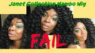Janet Collection Mambo Wig   FAIL