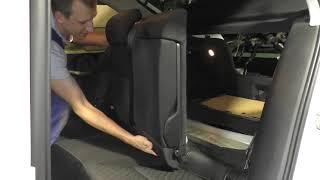 Шкода Октавия А7 - Как снять задние сиденья