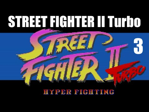 [3/4] Ryu Playthrough - STREET FIGHTER II Turbo(SNES)