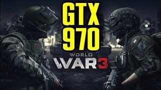 World War 3 GTX 970 OC | 1080p Ultra Settings | FRAME-RATE TEST
