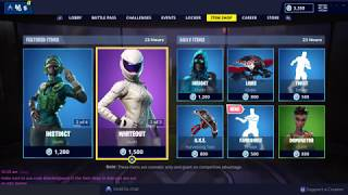 NEW FANDANGLE EMOTE + RACER SKINS: Fortnite Item Shop