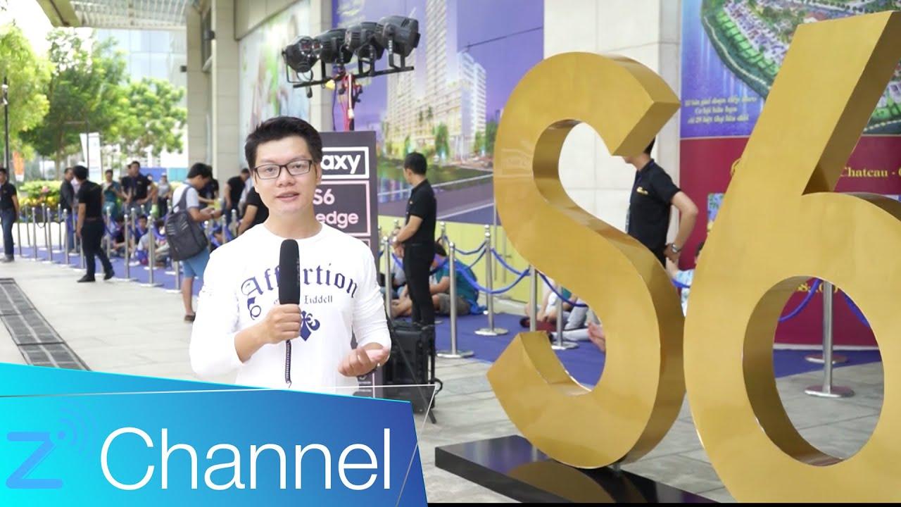 Samsung Galaxy S6 & S6 edge – Buổi bán hàng đầu tiên [Zchannel]