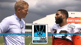 Odell Beckham Jr. on new life in Cleveland, Baker Mayfield and Super Bowls | Chris Simms Unbuttoned