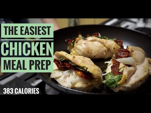 The Best Stuffed Chicken Recipe | Meal Prep