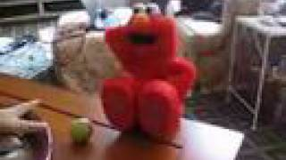 Defective TMX Elmo Takes a Plunge thumbnail