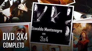 "Oswaldo Montenegro: DVD ""3x4"" COMPLETO (EXCLUSIVO)"