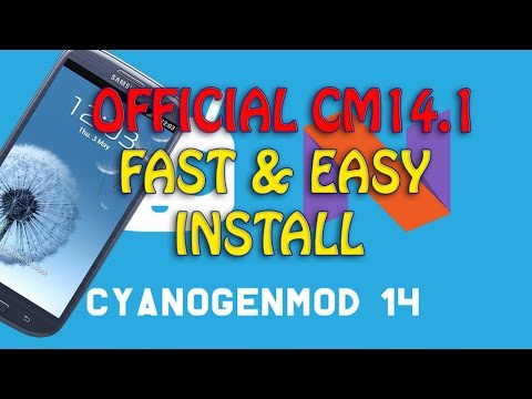 How to install OFFICIAL CyanogenMod 14.1 Galaxy S3 i9300 [FAST & EASY] Android 7.1