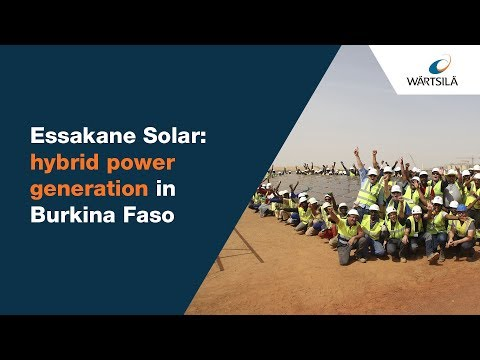 Essakane – Africa's biggest solar plant | Wärtsilä
