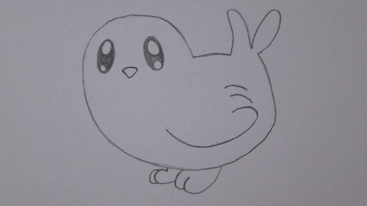 como desenhar um pássaro youtube