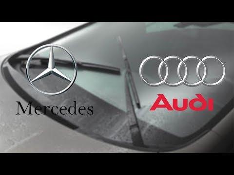 Mercedes vs Audi | Windshield Wiper Technology