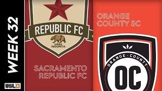 Sacramento Republic FC Vs. Orange County SC October 12 2019