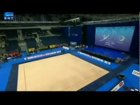2011 European Rhythmic Gymnastics Championships Minsk Qualification Hoop & Ball