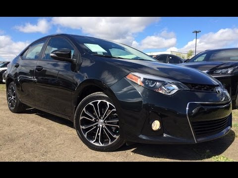 Pre Owned Black 2015 Toyota Corolla Cvt S In Depth Review Edson