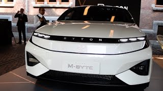 UN SUV ÉLECTRIQUE À 39000€ - Découverte de la voiture Électrique Byton (M-BYTE)