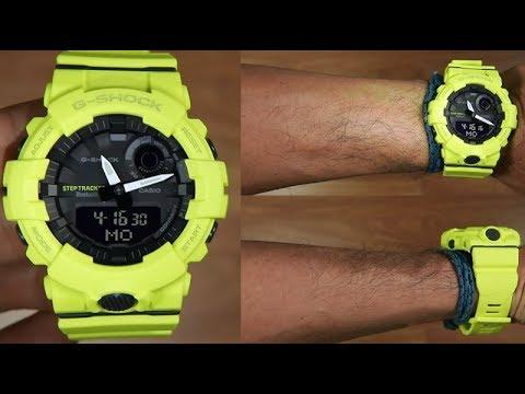ff242b66985c Casio G-Shock G-SQUAD GBA-800-9A STEP TRACKER - UNBOXING - YouTube