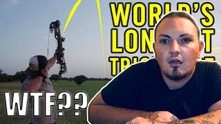 Archery Trick Shots 2 | DUDE PERFECT (REACTION) *THIS CAN'T BE REAL*