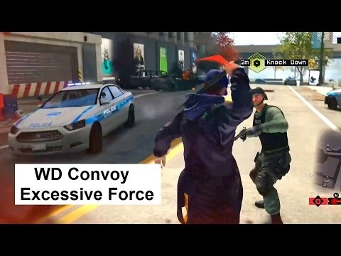 WD Criminal Convoy: Excessive Force. Route is short, cannot kill Target. Watch Dogs side missions