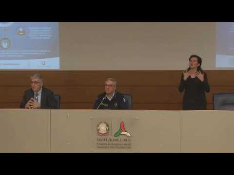 Corinavirus, il bilancio della crisi: conferenza stampa della protezione civile