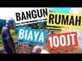 BANGUN RUMAH BIAYA DI BAWAH 100 JUTA #HARI KE 1, GALI PONDASI