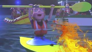 Sam il Pompiere Italiano 🌟Emergenza in acqua! 🔥Nuovi episodi 🌟Cartoni animati